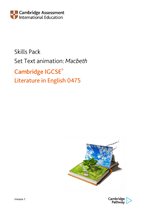 Skills Pack: Set Text animation - Macbeth