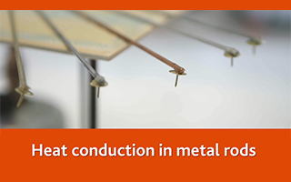 Heat conduction in metal rods