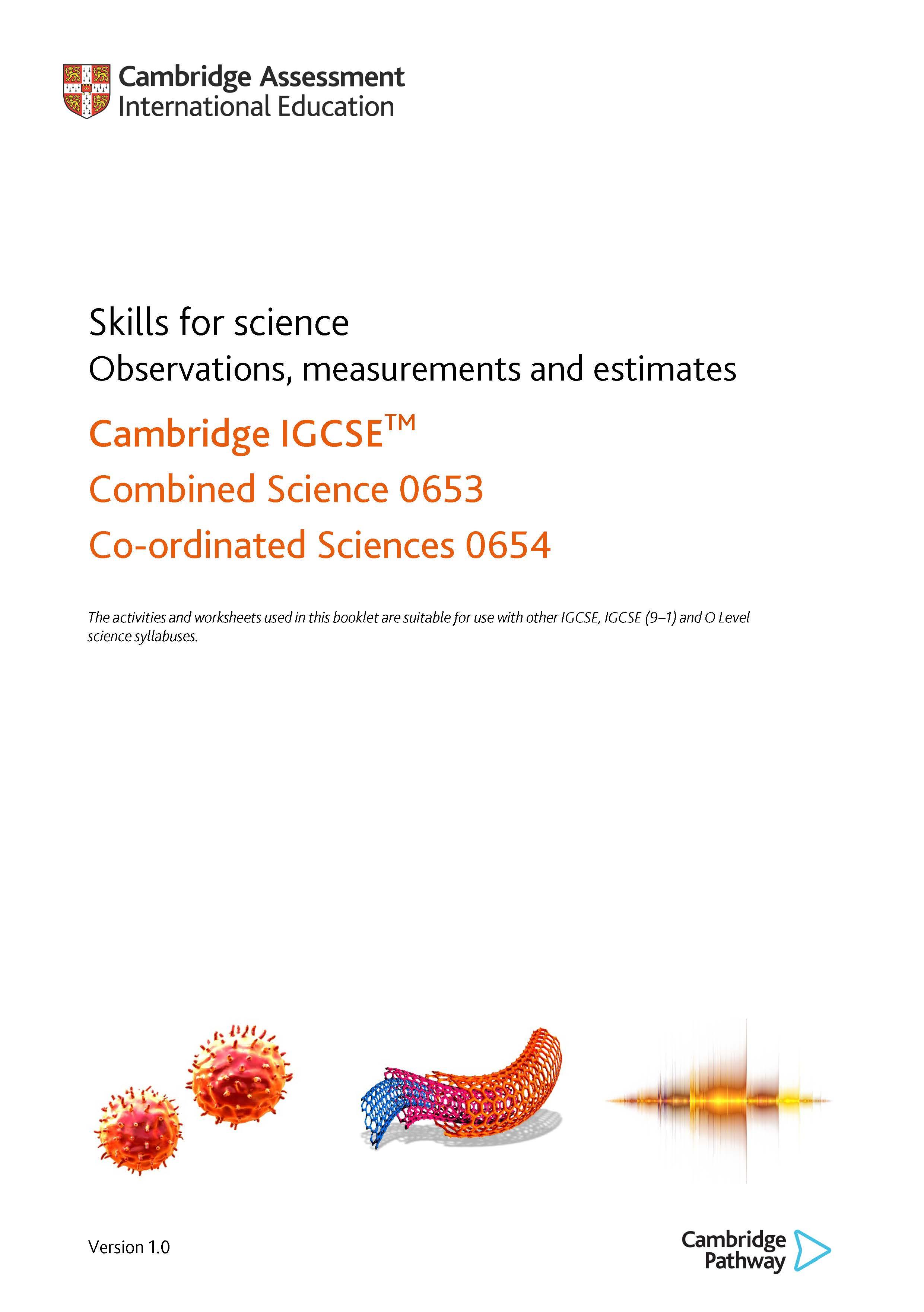 Skills for science - Observation