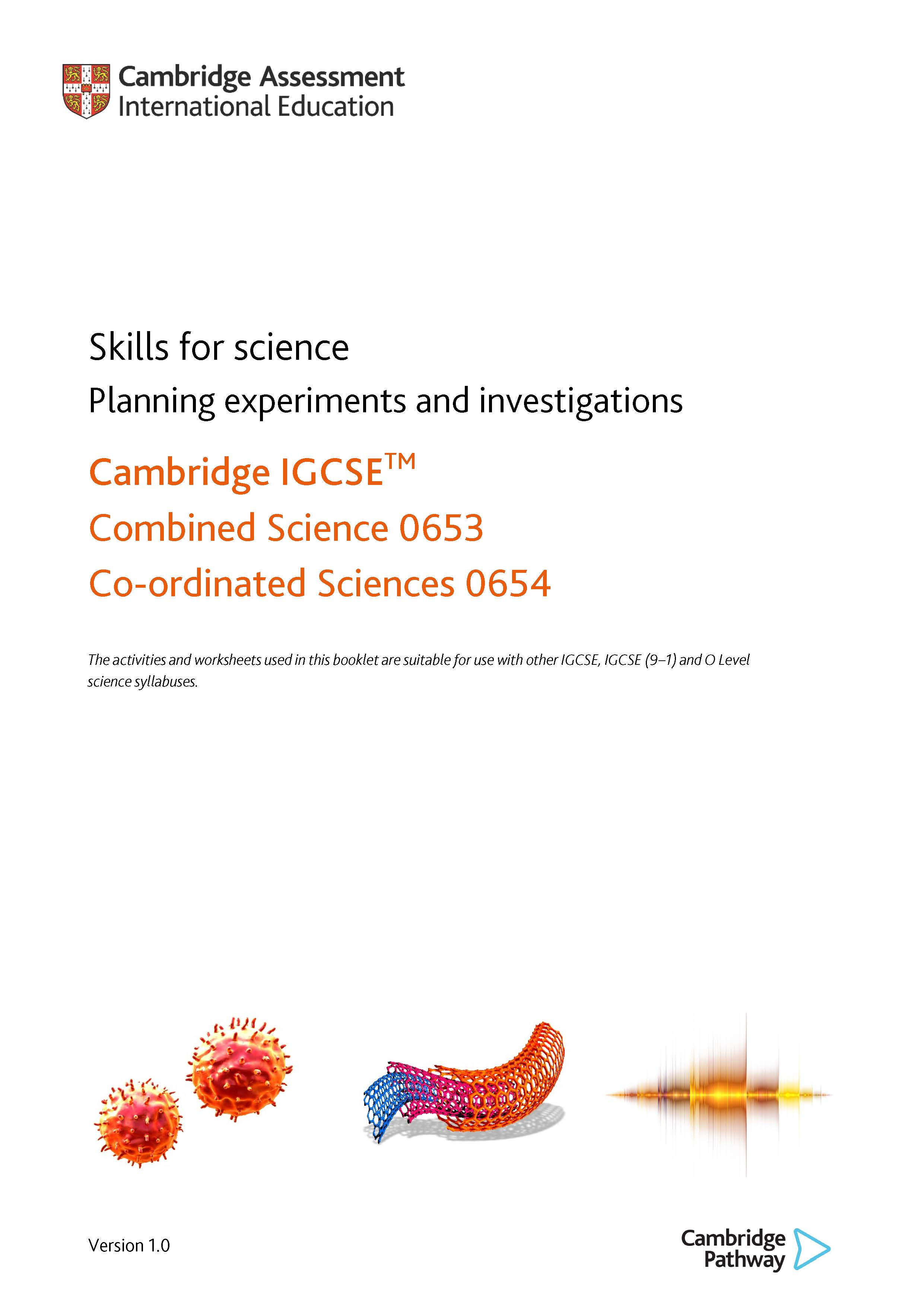 Skills for science - Planning