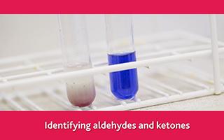 Identifying aldehydes and ketones