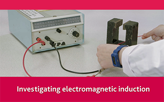 Investigating electromagnetic induction