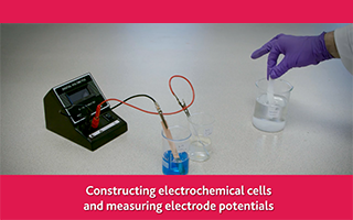 Constructing electrochemical cells and measuring electrode potentials