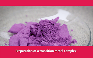 A preparation of a transition metal complex
