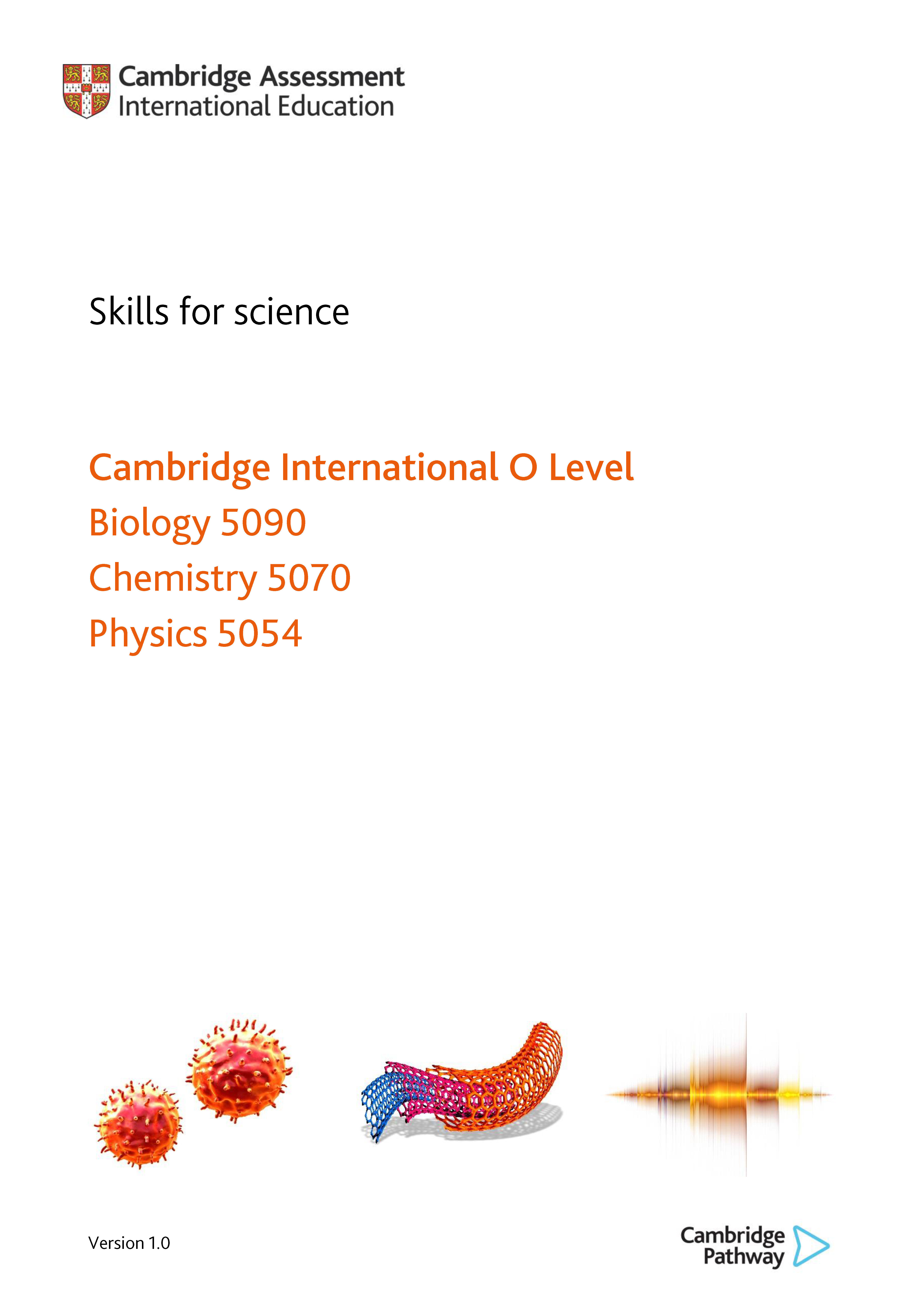 Skills for science - Evaluating